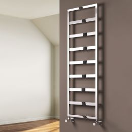 Reina Rezzo Steel Designer Towel Radiator Chrome 550 x 740mm