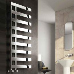 Reina Capelli Designer Towel Radiator Polished Stainless Steel 500 x 800mm