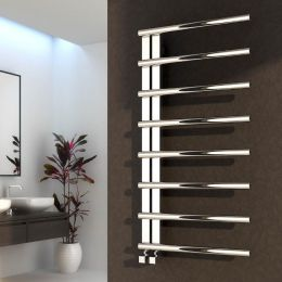 Reina Celico Designer Towel Radiator Polished Stainless Steel 500 x 1000mm