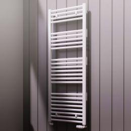 Reina Diva Flat Designer Towel Radiator White 500 x 1800mm