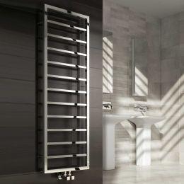 Reina Egna Designer Towel Radiator Polished Stainless Steel 500 x 775mm