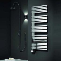 Reina Entice Designer Towel Radiator Brushed Stainless Steel 500 x 1200mm