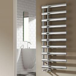 Reina Grace Steel Designer Towel Radiator Chrome 500 x 780mm