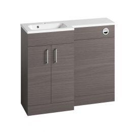 Tavistock Nexus Combination Furniture & Basin Urban Grey 1000mm Left Hand
