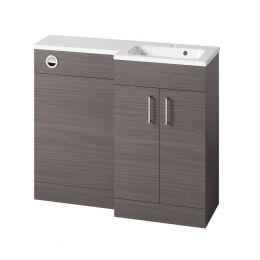 Tavistock Nexus Combination Furniture & Basin Urban Grey 1000mm Right Hand