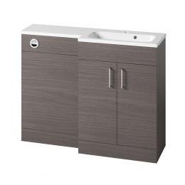 Tavistock Nexus Combination Furniture & Basin Urban Grey 1100mm Right Hand