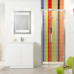 Tavistock Oxygen Hinged Shower Door 760