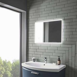 Tavistock Resonate LED Illuminated Mirror with Bluetooth Speakers 500 x 700mm