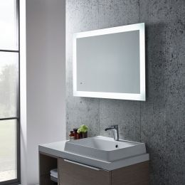 Tavistock Appear LED Backlit Illuminated Mirror 900 x 600 Roomset SLE550
