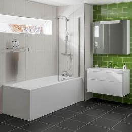 Trojan One Piece Bath Side & End Panel 1800 x 800