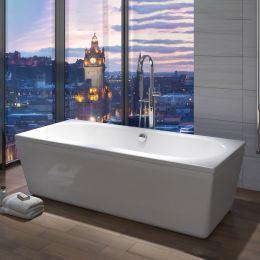 Trojan Edinburgh Freestanding Double Ended Bath 1700 x 750 Room Set
