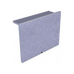 Trojan Tiling Board End Bath Panel With Tiled Lip Right Hand 900mm