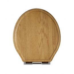 Tavistock Vitoria Soft Close Toilet Seat Natural Oak