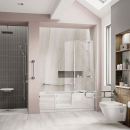 Bathe Easy Style Walk In Bath 1700 x 750 Left Hand