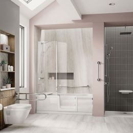Bathe Easy Style Walk In Bath 1800 x 800 Right Hand