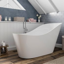 Trojan Winton Freestanding Slipper Bath 1700 x 800 with Waste Roomset