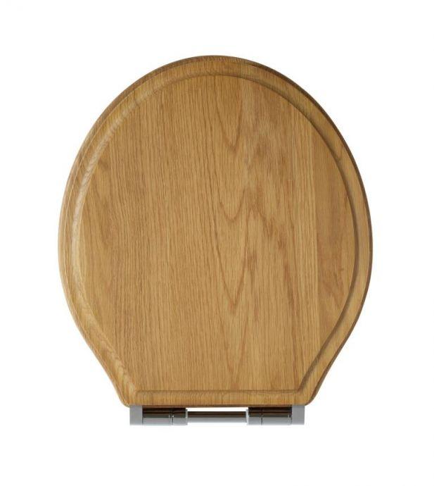 Tavistock Vitoria Soft Close Toilet Seat Natural Oak