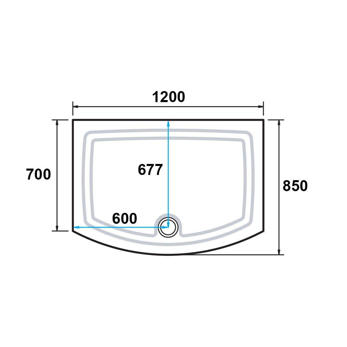 kudosconcept2showertray1200x700dimensions