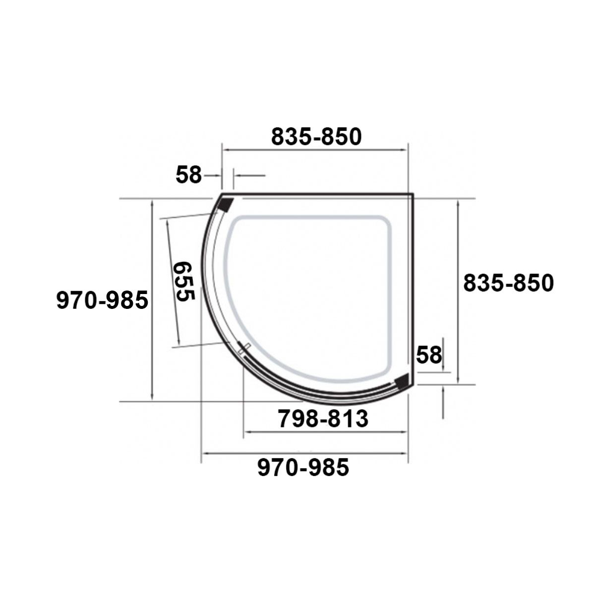 kudosoriginalcurvedslidingshowerenclosuresideaccess1000x1000withconcept2showertraydimensions