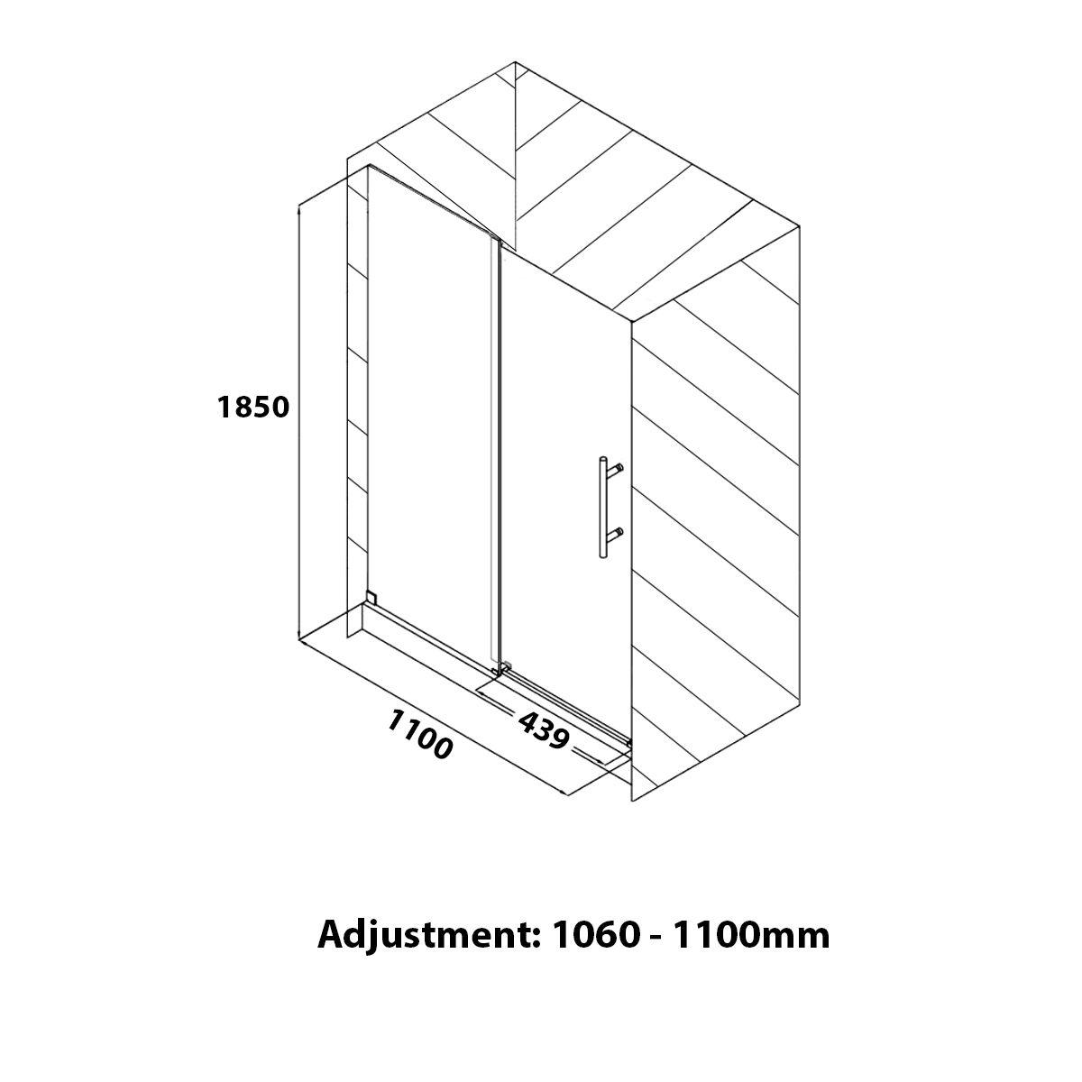 coral6mmslidingshowerenclosure1100x760mmdimensions1