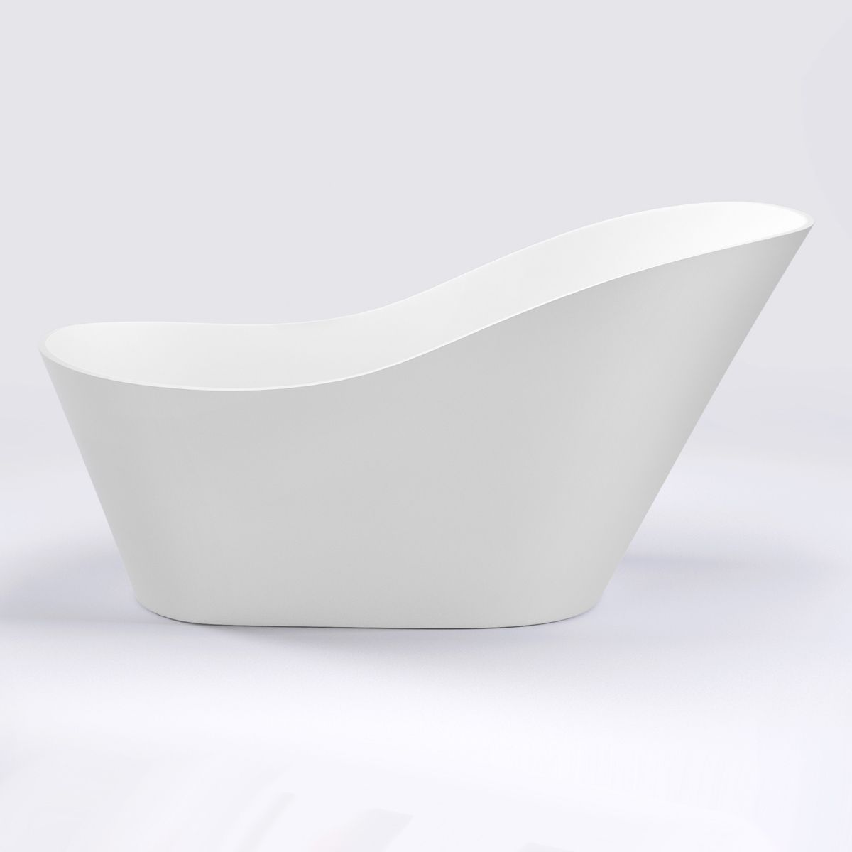 trojanwintonfreestandingslipperbath1700x800withwastesideview
