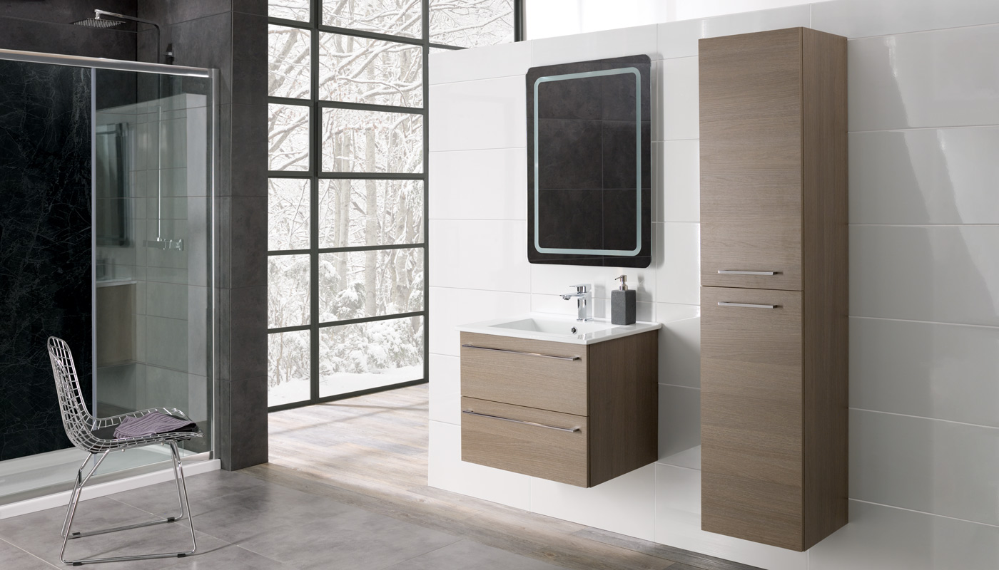 Stylish yet practical ideas for small bathrooms