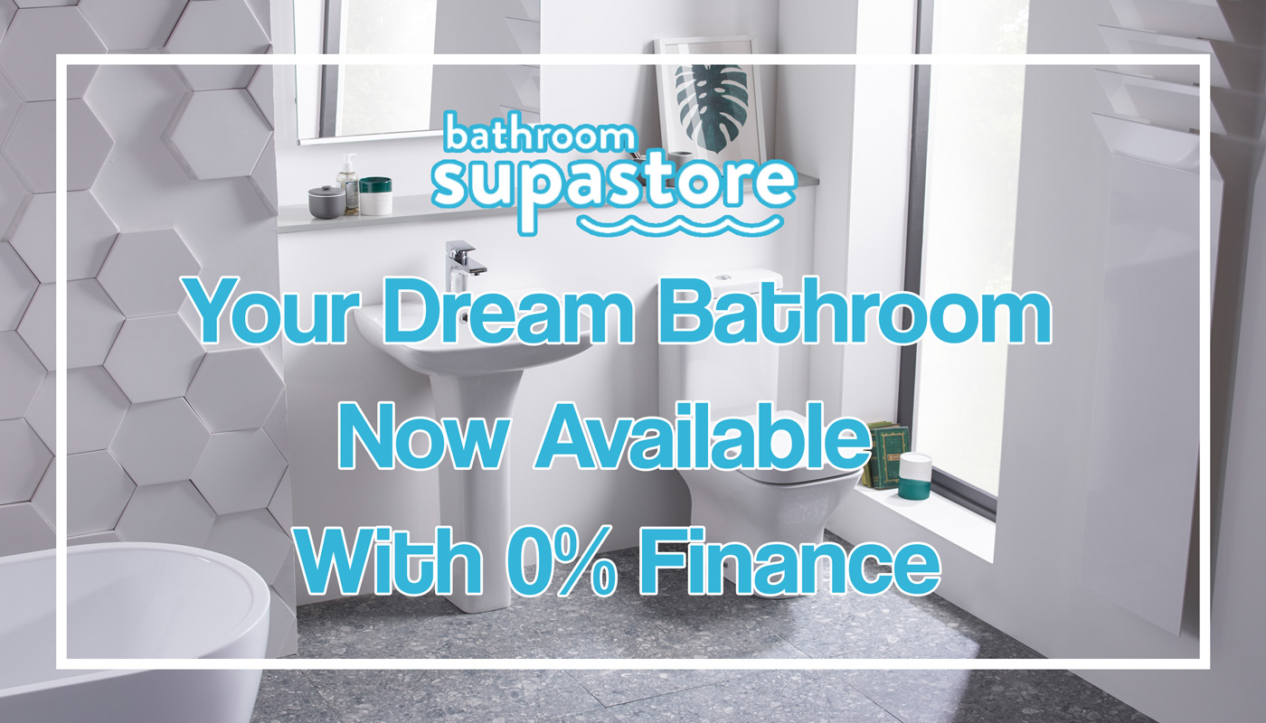 Finance Options Available at Bathroom Supastore