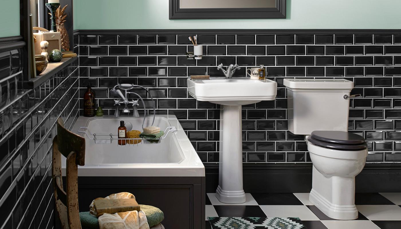 How To Create An Art Deco Style Bathroom With Bathroom