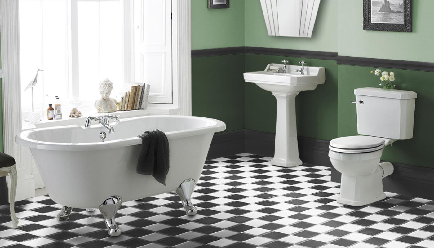 Art Deco Bathroom Inspiration