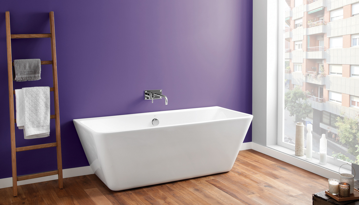 April Eppleby Ultra Violet bathroom