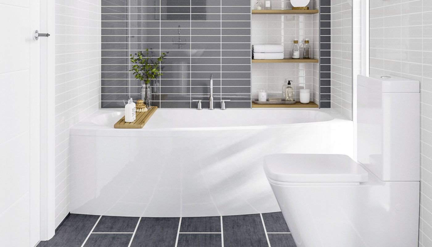 Baths vs. Showers: Options for small bathrooms