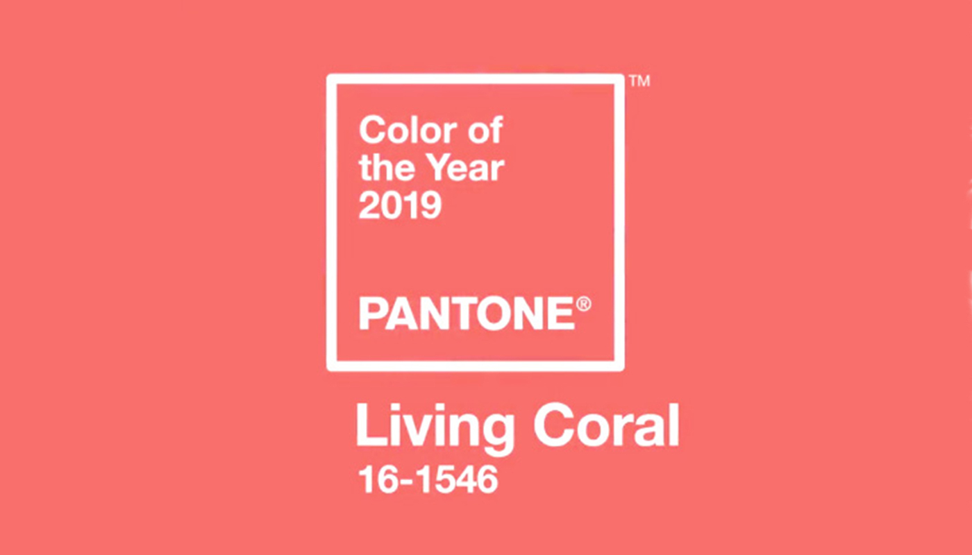 Pantone Colour of the Year 2019 - Living Coral