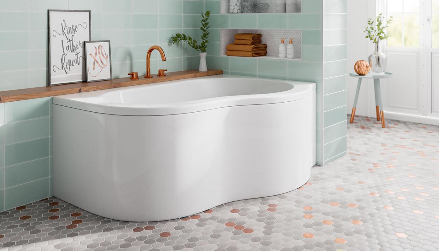 Trojan Quebec Corner Bath