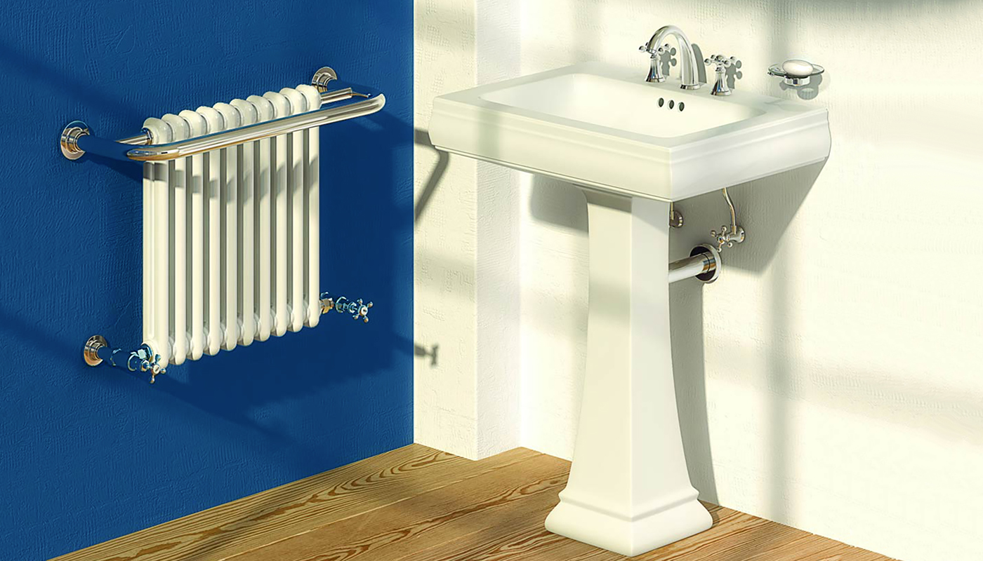Classic Blue Period Bathroom