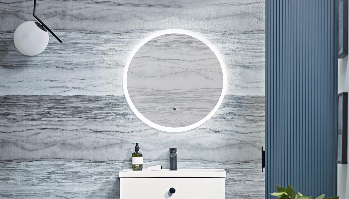 Bathroom Trends - Round Mirror