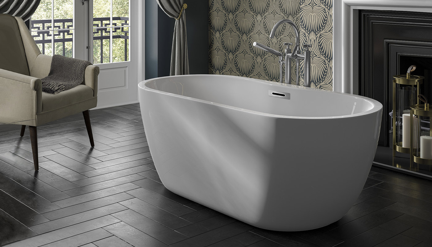 Trojan Alcora Freestanding Bath