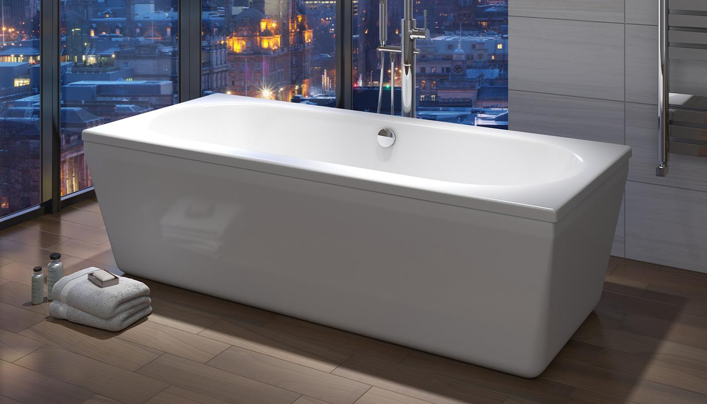 Trojan Edinburgh Double End Freestanding Bath